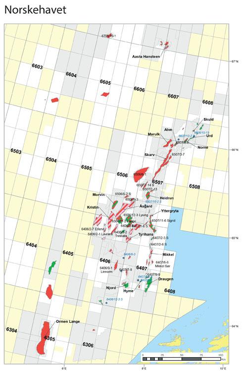 Sokkelkartet NH-område